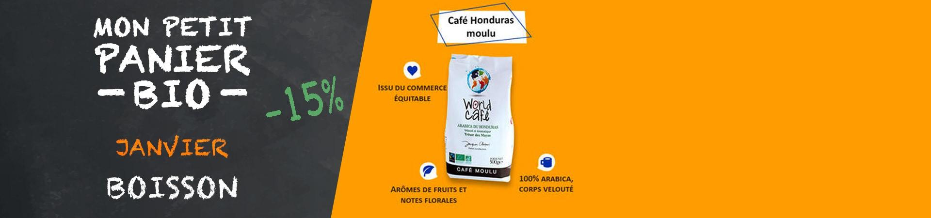Café Honduras moulu