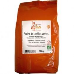 FARINE DE LENTILLES VERTES 500G