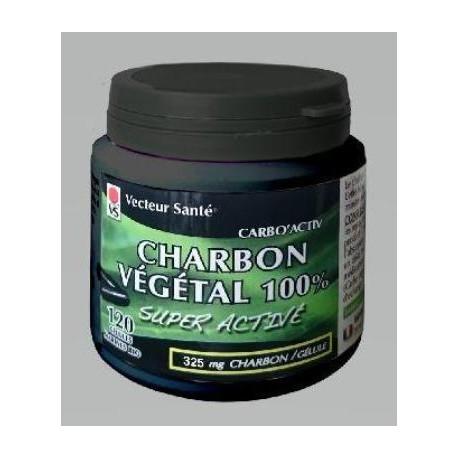 CHARBON VEGETAL 100% GELULE 120 49.5G