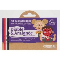 KIT MAQUILLAGE ENFANT DIABLEetARAIGNEE