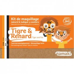 KIT MAQUILLAGE ENFANT TIGREetRENARD