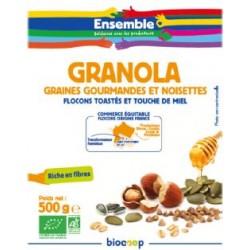 GRANOLA AUX GRAINES ET NOISETTES 500G