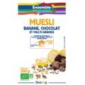 MUESLI BANANE CHOCOLAT ET GRAINES 500G