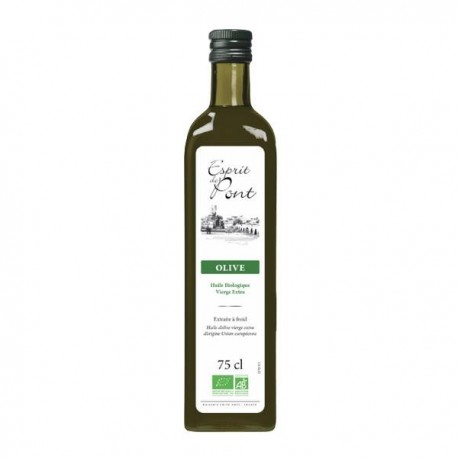 HUILE D OLIVE VIERGE EXTRA 75CL