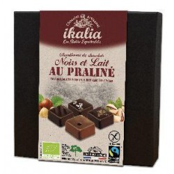 ASSORT PRALINE CHOCNOIR LAIT (16) 125G