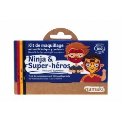 KIT MAQUILLAGE ENFANT NINJAetSUPER-HEROS
