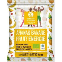 BILLES ANANAS BANANE FRUIT ENERGIE 28G