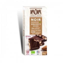 CHOCOLAT NOIR AMANDE 66% 180G