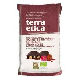 CHOCOLAT NOIR NOISETTE GRENADE FRAMBOISE 100G