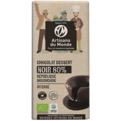 CHOCOLAT NOIR DESSERT 80% 180G