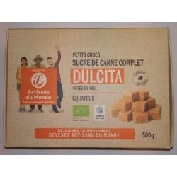 SUCRE CANNE COMPLET MORCEAU DULCITA 500G