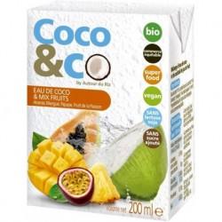 EAU DE COCO MIX FRUITS 20CL