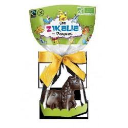 MOULAGE LICORNE CHOCOLAT NOIR GARNI 100 GRS