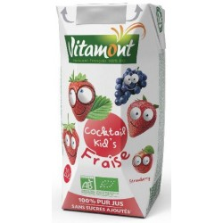 COCKTAIL KIDS FRAISE TETRA 20CL