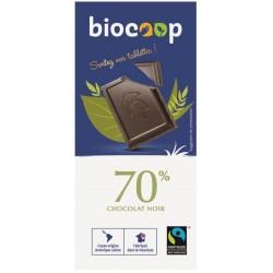 CHOCOLAT NOIR 70% 100 GRS