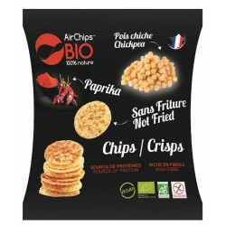 CHIPS POIS CHICHE PAPRIKA SS FRITURE 30G