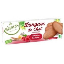 LANGUES DE CHAT FRAMBOISE 100 GRS
