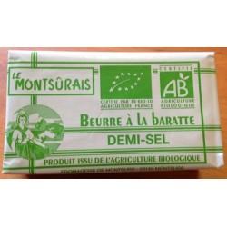BEURRE DEMI-SEL DE BARATTE 250GRS