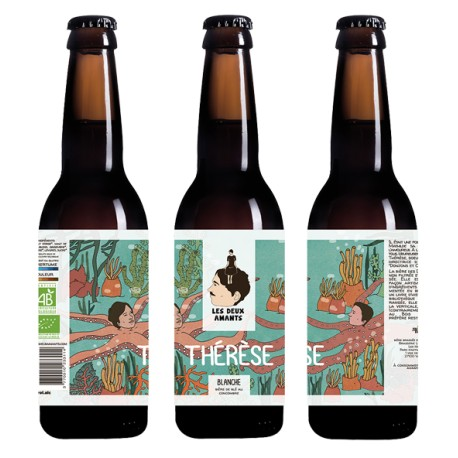 BIÈRE BLANCHE THERESE 75 CL