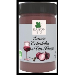 SAUCE ECHALOTE VIN ROUGE 180G
