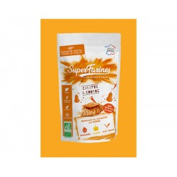 FARINE CAROTTE COURGE ORANGE 220GR