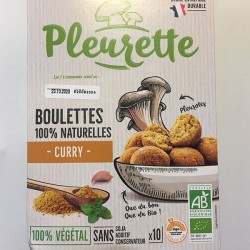 BOULETTES VEGETALES CHAMPIGNON CURRY 150G