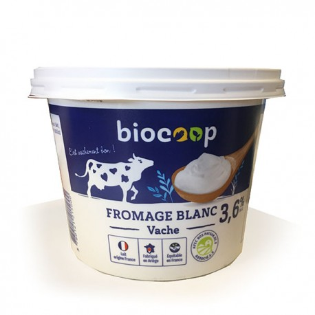 FROMAGE BLANC 3.6% MG 1KG CC