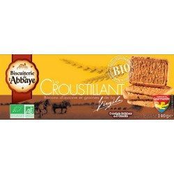 BISCUIT SABLE AVOINE GRAINE LIN 140G