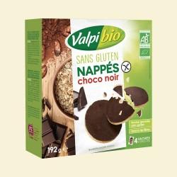 BISCUIT NAPPE CHOCOLAT NOIR 192G