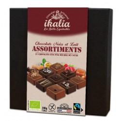 BOUCHEE ASSORTIES CHOCOLAT NOIR ET LAIT 200G