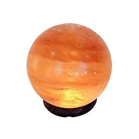 LAMPE DE SEL GLOBE 13CM