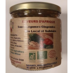 SAUCE LEGUME GINGEMBRE 300 GRS