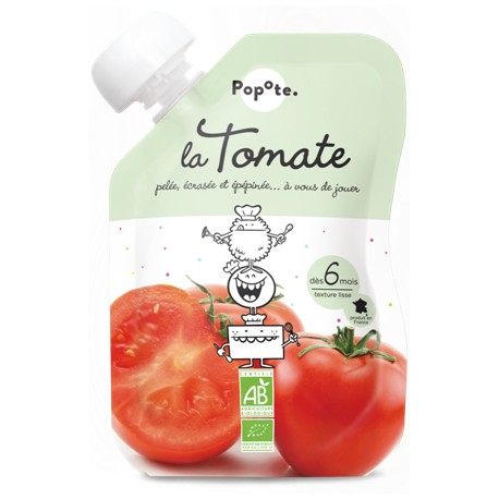 GOURDE TOMATE 120G
