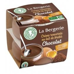 CREME RENVERSEE CHOCOLAT BREBIS 2X110G