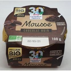 MOUSSE AU CHOCOLAT NOIR 100GRS