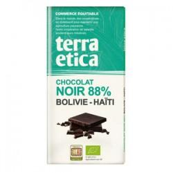 CHOCOLAT NOIR BOLIVIE HAÏTI 88% 100G