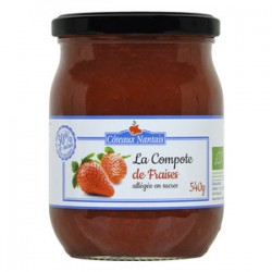 COMPOTE FRAISE ALLEGEE 540G