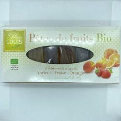 PÂTES DE FRUITS EN BARRE 6X30GRS