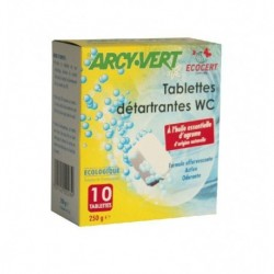 TABLETTES WC EFFERVESCENTES (10) 250G