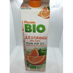 JUS D'ORANGE AVEC PULPE 1L