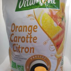 JUS D ORANGE CAROTTE CITRON 3L
