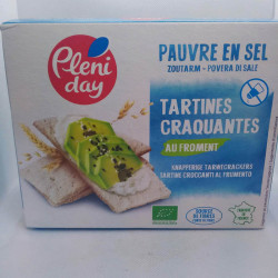 TARTINE CRAQUANTE FROMENT 150G