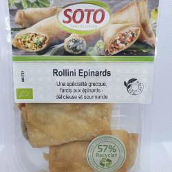 ROLLINIS AUX ÉPINARDS (3) 150GRS