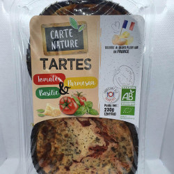 TARTE TOMATE PARMESAN BASILIC (2) 230G