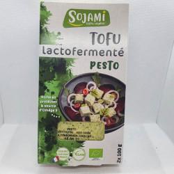 TOFU LACTOFERMENTÉ PESTO 200GRS