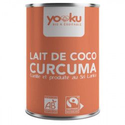 LAIT COCO CURCUMA 400ML
