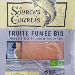 TRUITE FUMEE 120G