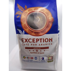 CAFE EXCEPTION MOULU 500G