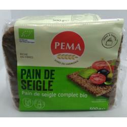 PAIN DE SEIGLE COMPLET AU CHANVRE 500G