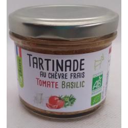 TARTINABLE CHEVRE TOMATE BASILIC 90G